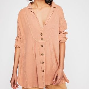 Free People All The Feels Oversized Tunic Top